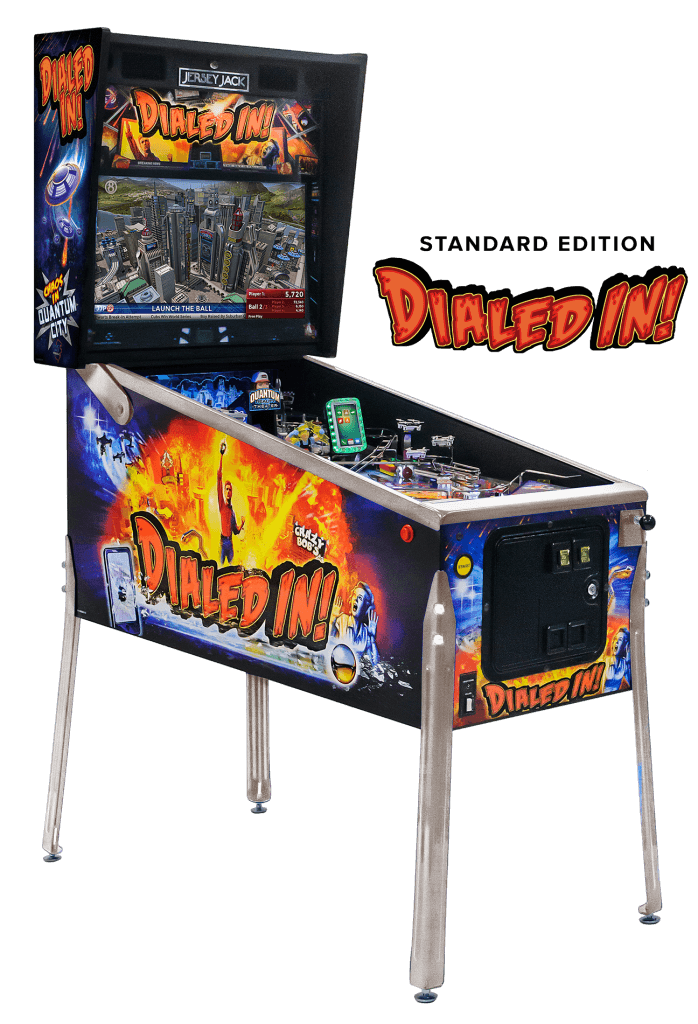 Jersey Jack Dialed In ! Standard Edition Pinball Machine