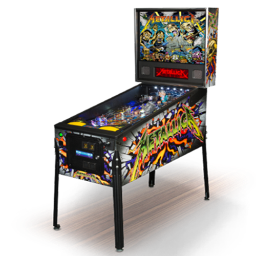 Metallica Premium Monster  Pinball Machine Free Shipping