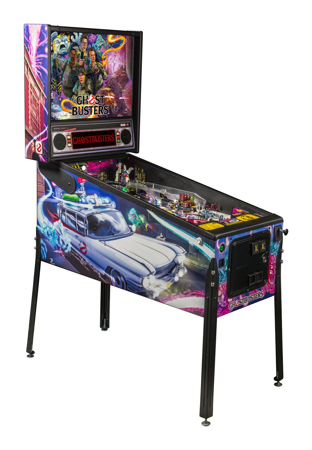 Stern Ghostbusters Pro Pinball Machine Free Shipping