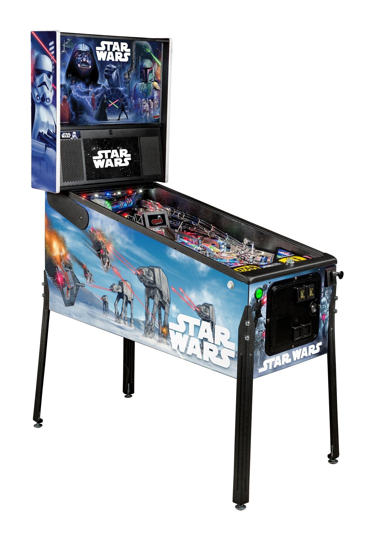 Stern Star Wars Premium Pinball Machine Free Shipping