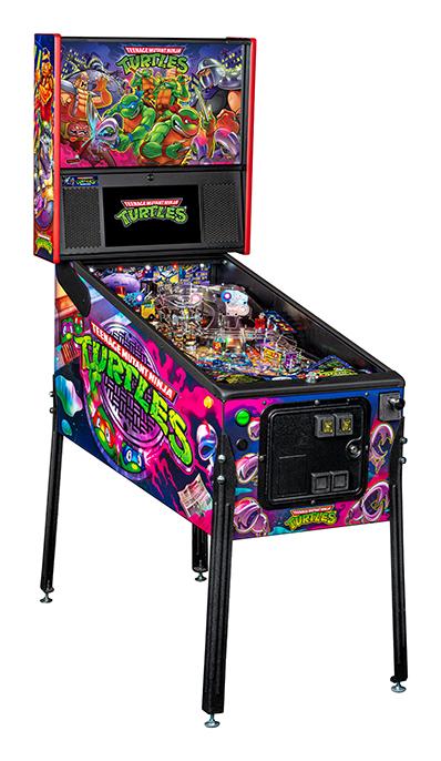 Stern Teenage Mutant Ninja Turtles TMNT Premium Pinball Machine Free Shipping