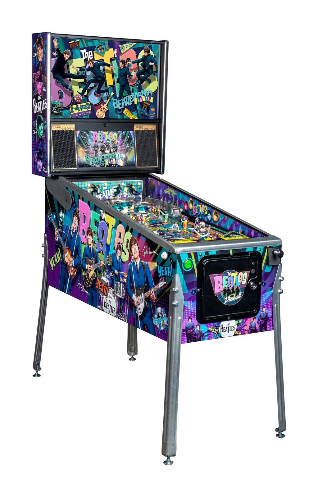 Stern Beatles Platinum Edition Pinball Machine