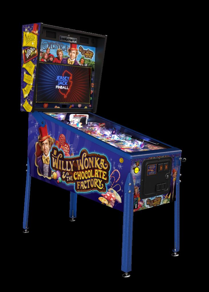 Jersey Jack Willy Wonka & The Chocolate Factory Limited Edition Pinball Machine